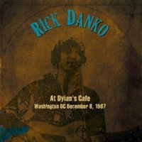 At Dylan's Cafe. Washington DC December 8, 1987