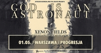 God Is An Astronaut | Xenon Field | 01.05.2018 | Progresja | Warszawa