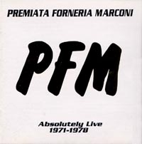 PFM - The Best Of Absolutely Live 1971-1978