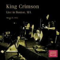 Live in Boston, MA, March 27, 1972