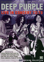 Live in concert 1972/73